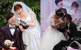 Chú rể đeo khẩu trang, trao nhẫn cưới bằng miệng và câu chuyện bị hôn thê bỏ rơi 7 năm trước