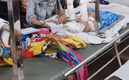 Bé trai 4 tháng tuổi bị gãy chân, xuất huyết não, cha đẻ nói do té ngã