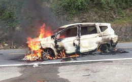 Danh tính nạn nhân tử vong trong vụ xe Xpander phát nổ trên đường Hồ Chí Minh