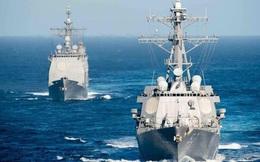 Hải quân Mỹ tuần tra Biển Đông kỷ lục năm 2019