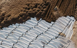 Đừng tưởng điện gió là sạch, cánh tuabin không thể tái chế đang nằm chất đống thành những bãi rác khổng lồ