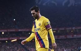 """Tịt ngòi sau scandal """"nội chiến"""", Messi cay đắng nhìn Barcelona đánh mất chiếc cúp đầu tiên"""