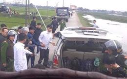 Quá trình vây bắt chiếc xe 7 chỗ chở 45kg ma túy đá đi trên đường làng Hà Tĩnh