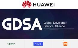 Huawei, Xiaomi, Oppo, Vivo chung sức thành lập liên minh đối đầu với Play Store của Google