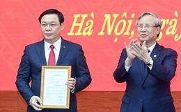 (ẢNH) Toàn cảnh lễ nhận quyết định Bí thư Thành ủy Hà Nội của Phó Thủ tướng Vương Đình Huệ