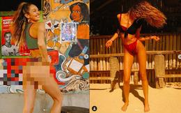 Đường cong tuyệt mỹ của 'thiên thần nội y' Candice Swanepoel