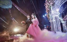 Đám cưới hoành tráng của Duy Mạnh - Quỳnh Anh: Đôi vợ chồng trẻ lung linh trên sân khấu