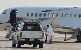 Xác định nguồn lây nhiễm của bệnh nhân thứ 32 nhiễm Covid-19 vừa được gia đình thuê máy bay riêng đưa về VN