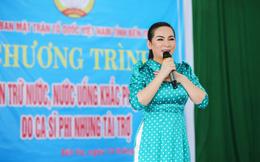 Sau khi hỗ trợ 200 triệu, Phi Nhung gấp rút tung MV kêu gọi ủng hộ miền Tây