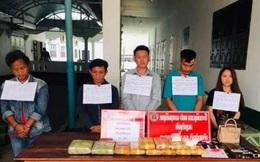 Tóm gọn nhóm người vận chuyển 60.000 viên ma túy từ Lào về Việt Nam