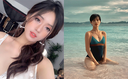 """""""Bản sao Tâm Tít"""" và cú lột xác đầy nóng bỏng của hot girl Khánh Linh"""