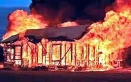 Cụ ông bị tai biến tử vong thương tâm trong đám cháy