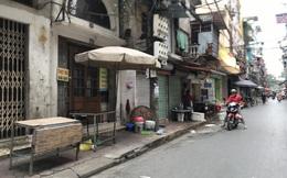 """Sau hàng ăn uống, nhiều chợ ở Hà Nội tiếp tục """"nghỉ Tết"""" vì Covid-19"""