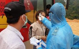 Hành khách trở về từ Thái Lan bị sốt, chuyến xe 45 chỗ được cách ly