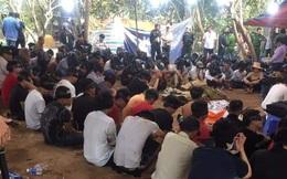 """Cảnh sát nổ súng triệt phá trường gà quy mô """"khủng"""" ở Tiền Giang"""