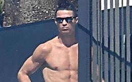 Ronaldo cởi trần tắm nắng giữa những ngày cách ly, bạn gái một mình đi chợ mua đồ tiếp tế