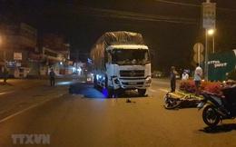 Xe tải đâm trực diện xe máy khiến một người tử vong, 2 người nguy kịch