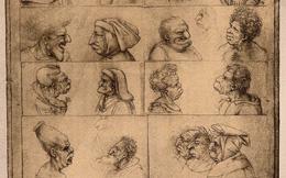 """Giải mã bí ẩn trong những bức họa """"xấu xí"""" trong sổ tay của Leonardo da Vinci"""