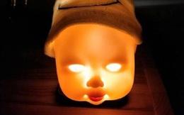 Tự chế đèn ngủ cho con, ông bố sáng tạo quá mức khiến cậu bé sợ khóc thét