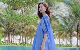 Khoe ảnh bánh sinh nhật con gái, Đặng Thu Thảo cố tình tiết lộ chi tiết thông báo đang mang thai?