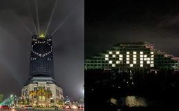 Đồng loạt thắp sáng nhiều tòa nhà Vinpearl, gửi thông điệp yêu thương đến những người ở tuyến đầu chống dịch Covid-19