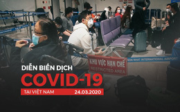 [Dịch Covid-19 ngày 24/3]: Việt Nam thêm 11 ca nhiễm Covid-19 - Phòng gym, salon làm tóc, nhà hàng ở Sài Gòn đóng cửa từ 18h hôm nay