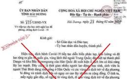 Phạt người phụ nữ đăng tải văn bản giả mạo cho học sinh nghỉ học để phòng chống Covid-19