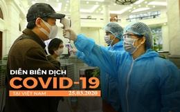 Dịch Covid-19 ngày 25/3: Việt Nam có 134 ca dương tính; 26 bệnh nhân có kết quả âm tính lần 1