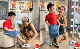 """Cuộc sống làm mẹ đơn thân của Thảo Trang """"xấu lạ"""" như thế nào?"""