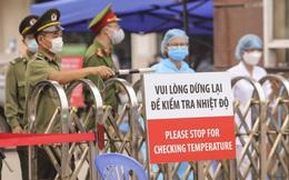 An ninh nghiêm ngặt ở Bệnh viện Bạch Mai, người dân không thể tự do ra vào, gửi đồ tiếp tế vào trong