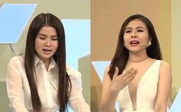 Kha Ly và Vân Trang khẩu chiến gay gắt trên truyền hình vì chuyện người yêu cũ