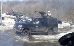 Thực hư tin Nga triển khai súng máy hạng nặng phong tỏa đường cao tốc: Chống COVID-19?