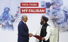 """Thoả thuận Doha: Thất bại của Mỹ và nguy cơ """"cởi trói"""" cho Taliban"""