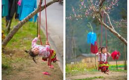 Khoảnh khắc cô bé Hà Giang nô đùa, cười rạng rỡ bên đường khiến bao người xao xuyến