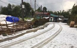 Chuyên gia lý giải hiện tượng mưa đá to bằng viên bi phủ trắng như tuyết trên đường ở Lai Châu