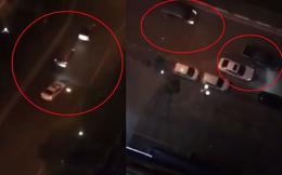 Hai nhóm thanh niên lái ô tô húc nhau, nghi có nổ súng