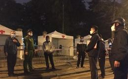 Giám sát dịch bệnh Covid-19: Hoàn tất lắp dựng trạm xét nghiệm nhanh gần Bệnh viện Bạch Mai