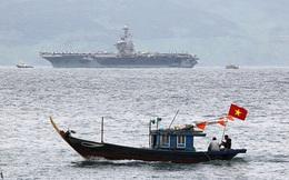 24h qua ảnh: Tàu sân bay của Hải quân Mỹ thăm Việt Nam