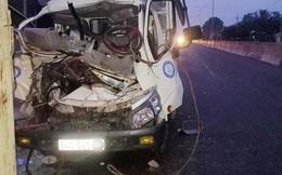 Tông vào đuôi máy cày, xe tải biến dạng khiến 2 người tử vong, 1 người bị thương ở Bình Phước