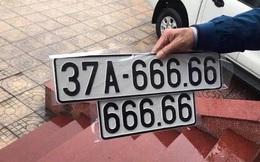 Chủ xe Mercedes bấm trúng biển siêu đẹp 666.66: Từng phát hiện 2 xe dùng biển giả BKS này