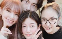 """Bức ảnh """"bộ tứ hack tuổi"""" gây bão weibo vì hội ngộ những tên tuổi đình đám của làng phim thần tượng Đài Loan"""
