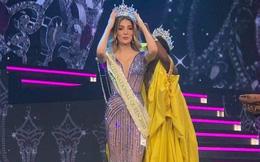 Khoảnh khắc người đẹp Mexico đăng quang Hoa hậu Chuyển giới: Chiều cao khủng chắn hết cả cựu Hoa hậu người Mỹ
