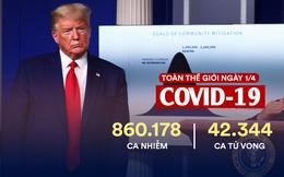 COVID-19: Mỹ đã có hơn 188.000 ca nhiễm bệnh; 121 quốc gia đã đề nghị Hàn Quốc hỗ trợ về bộ xét nghiệm