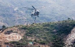 Trực thăng quân đội Trung Quốc rơi khi bay huấn luyện tại Hong Kong