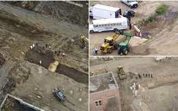 Thảm cảnh giữa mùa dịch ở Mỹ: Đảo không người biến thành nghĩa địa tập thể, tù nhân được huy động để... đào hố chôn!