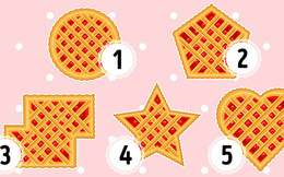 Trong 3 giây chọn 1 miếng bánh, bạn sẽ biết ngay mình có khả năng lãnh đạo hay không?