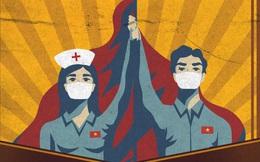 """Guardian: Lý giải Việt Nam chống COVID-19 hiệu quả từ """"bổn phận thời chiến"""" của các chiến binh cầm cọ"""