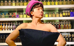MC Trấn Thành để lộ bộ sưu tập nước hoa tiền tỷ khi chụp hình hài hước