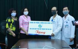 Hội LHPN Hà Nội: Chia sẻ khó khăn, tặng quà động viên với các y bác sĩ nơi tuyến đầu phòng chống dịch Covid-19