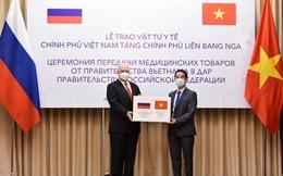 Việt Nam tặng 150.000 khẩu trang kháng khuẩn cho Nga phòng chống dịch COVID-19